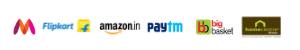 Avail great offers on marketplaces like Amazon, Paytm, Flipkart!